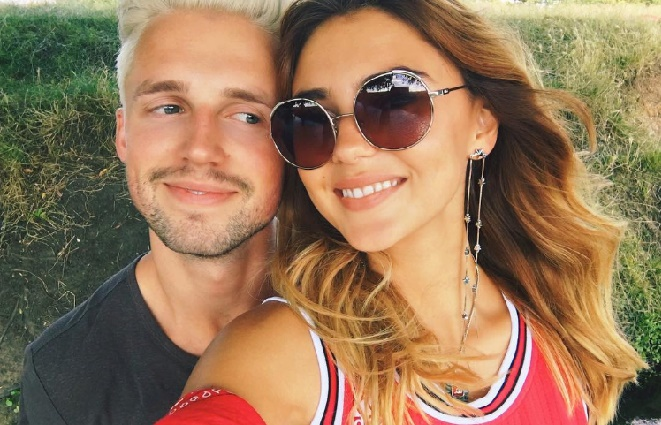 Marcus Butler with his new girlfriend Stefanie Giesinger, winner of the 9 season of Germany's Next Top Model