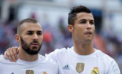 Cristiano Ronaldo ist glücklich bei Real Madrid und möchte seine Karriere am liebsten im hohen Rentenalter in Madrid beenden. Karim Benzema könnte gehen.
