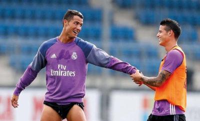 James Rodriguez bekommt Unterstützung von Cristiano Ronaldo. Gareth Bale ist nicht mit den Vertragskonditionen von Real Madrid einverstanden.