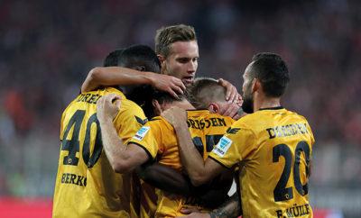 Dynamo Dresden sichert sich das zweite Remis.