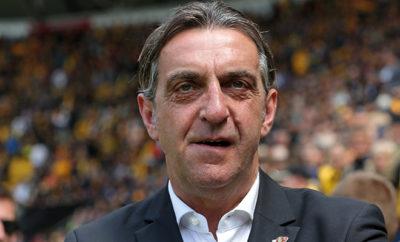 Sportdirektor Minge von Dynamo Dresden.