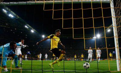 Pierre-Emerick Aubameyang sorgte mit seinem Treffer bei Cristiano Ronaldo und Gareth Bale für Unmut.