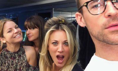 Big Bang Theory: Kaley Cuoco Oben-Ohne auf Snapchat!