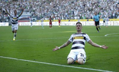 Andre Hahn will bei Borussia Mönchengladbach einen Rekord brechen.