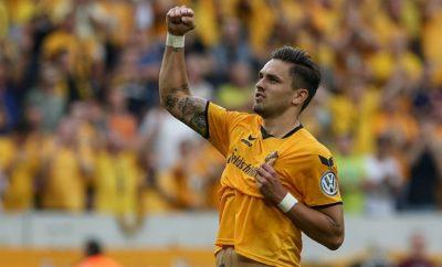 Pascal Testroet will mit Dynamo Dresden viel erreichen.