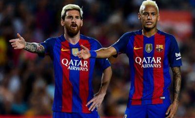 Lionel Messi und Neymar