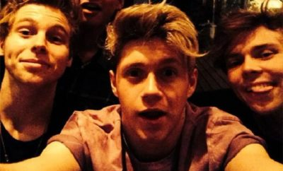 One Direction-Star Niall Horan: Wiedersehen mit 5SOS-Star Luke Hemmings.
