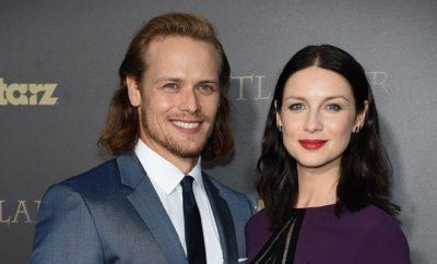 Outlander: Sam Heughan unterstützt Caitriona Balfe!