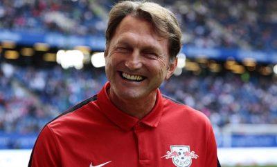 Ralph Hassenhüttl hat bei RB Leipzig gut Lachen.