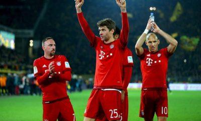 Thomas Müller, Franck Ribery und Arjen Robben könnten noch länger gemeinsam für den FC Bayern München auf dem Platz stehen.