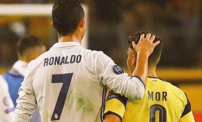 Emre Mor bewundert Cristiano Ronaldo.