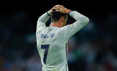 Cristiano Ronaldo blieb im Spiel von Real Madrid gegen Villarreal ohne Torerfolg.
