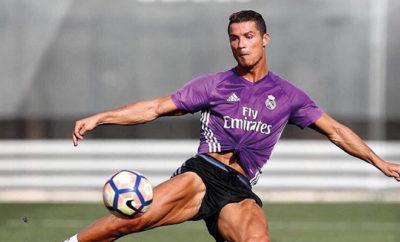 Cristiano Ronaldo ist nach seiner Verletzung zurück im Mannschaftstraining von Real Madrid.