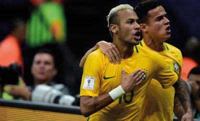 Neymar wirkt befreit und schießt Brasilien zum Sieg.