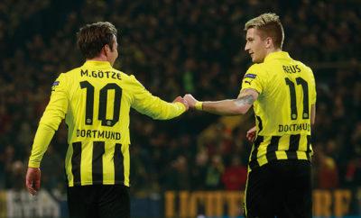 Der BVB versucht alles um Marco Reus und Mario Götze zu schützen.