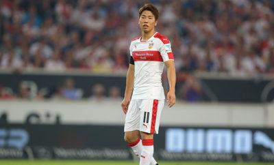 Neuzugang Takuma Asano fühlt sich beim VfB Stuttgart sehr wohl.