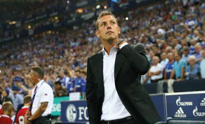 Weinzierl vom FC Schalke 04.