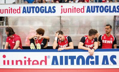Der bisher guten Saison mussten drei Akteure des 1. FC Köln besonders Tribut zollen.