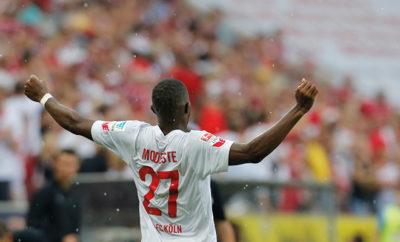Anthony Modeste könnte gegen Ingolstadt wieder für den 1. FC Köln auf dem Platz stehen.