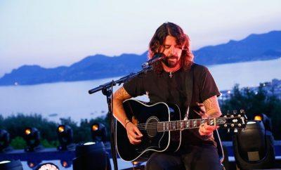 Dave Grohl von den Foo Fighters.