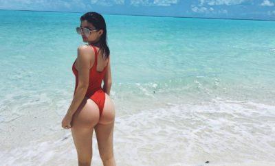 Kylie Jenner zeigt sich auf Instagram mal wieder in einer sexy Pose.