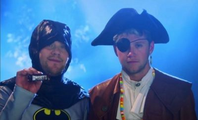 Niall Horan: Irrwitziges Musikvideo mit James Corden!