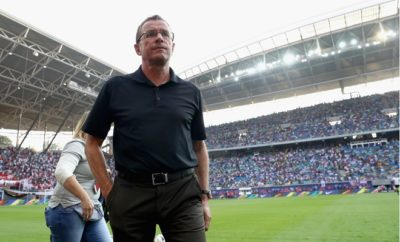 Ralf Rangnick bleibt RB Leipzig treu.