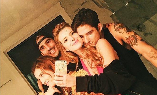 Tyler Posey Bella Thorne Instagram