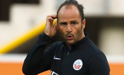 Christian Brand, Trainer von Hansa Rostock.