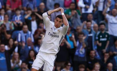 Cristiano Ronaldo glänzt am Wochenende und ist Suárez und Lionel Messi.