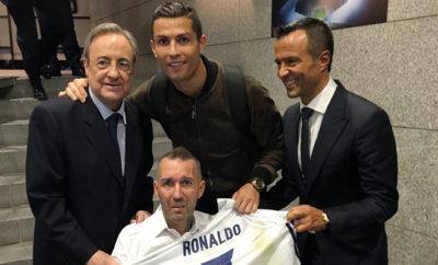 Cristiano Ronaldo zeigt wieder sein großes Herz.