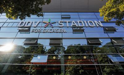 Das DDV-Stadion von Dynamo Dresden.
