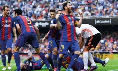 Lionel Messi droht wegen eines Wutausbruches eine nachträgliche Sperre.