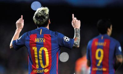 Lionel Messi überragt gegen Manchester City.