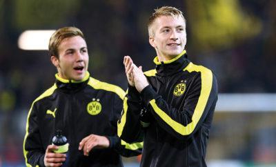 Mario Götze feiert die Rückkehr seines BVB-Kollegen Marco Reus auf Instagram. Die Stars von Borussia Dortmund sind auch abseits des Platzes innige Freunde.