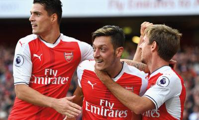 Der deutsche Nationalspieler Mesut Özil könnte in Zukunft neuer Goalgetter bei den Gunners werden.