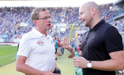 Ralf Rangnick (RB Leipzig) und Alexander Rosen (TSG 1899 Hoffenheim).