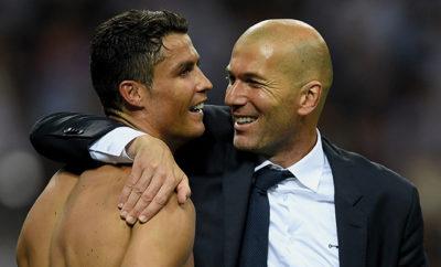 Nach Pfiffen gegen Cristiano Ronaldo wird er von Trainer Zinedine Zidane in Schutz genommen.