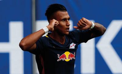 Davie Selke von RB Leipzig.