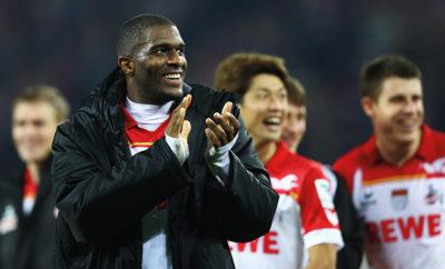 Trotz der bislang erfolgreichen Saison dämpft Anthony Modeste die Euphorie beim 1. FC Köln.