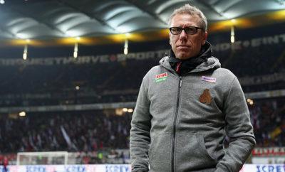 Peter Stöger behält trotz des Ausfalls von Timo Horn die Ruhe.