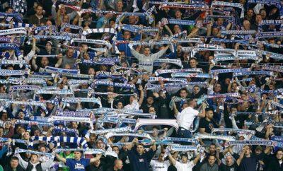 Die Fans des FC Hansa Rosotck.
