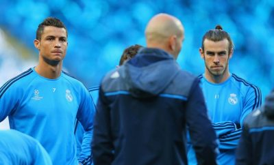 Cristiano Ronaldo und Greth Bale gemeinsam bei Real Madrid.