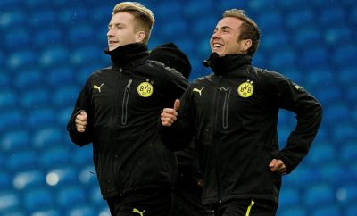 Mario Götze und Marco Reus von Borussia Dortmund.