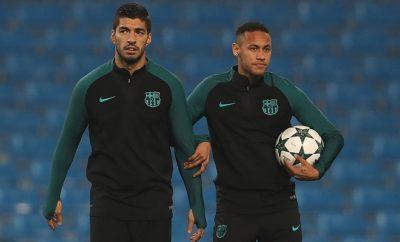 Luis Suarez und Neymar spielen für den FC Barcelona.