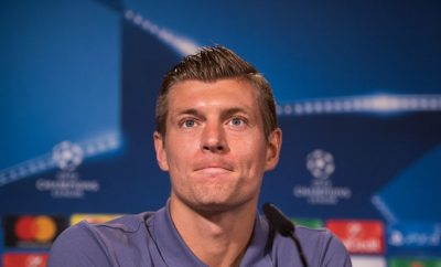 Toni Kroos wird Real Madrid fehlen.