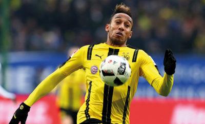 BVB-Star Pierre-Emerick Aubameyang wird zum Mega-Sprintduell gefordert.