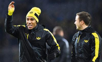 Pierre-Emerick Aubameyang von Borussia Dortmund.