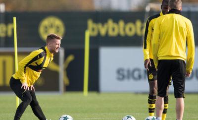 Aufgrund seiner langen Pause muss sich Marco Reus beim BVB vorerst wieder herankämpfen. Daneben kämpft Borussia Dortmund um Youngster Christian Pulisic.
