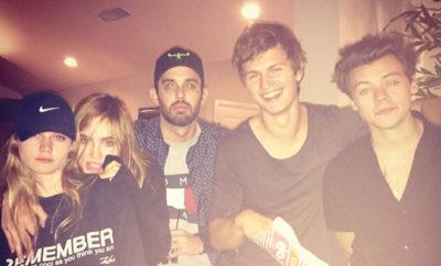 Zwischen One Direction-Star Harry Styles und Suki Waterhouse ging es auf einer Party von Meghan Trainor offenbar heiß zur Sache.